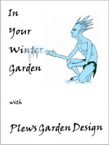 In Your Winter Garden with Plews Garden Design - cover illustration by Lucy Waterfield