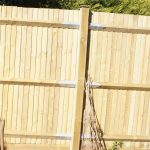 feather edge fence, garden fencing, pale fence