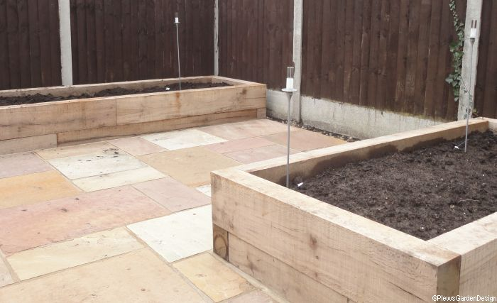 Raised Beds and Borders Garden Design Portfolio