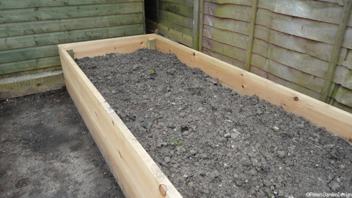 Raised Beds in the Garden