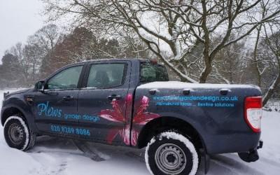 Plews truck Shirley Hills, Croydon