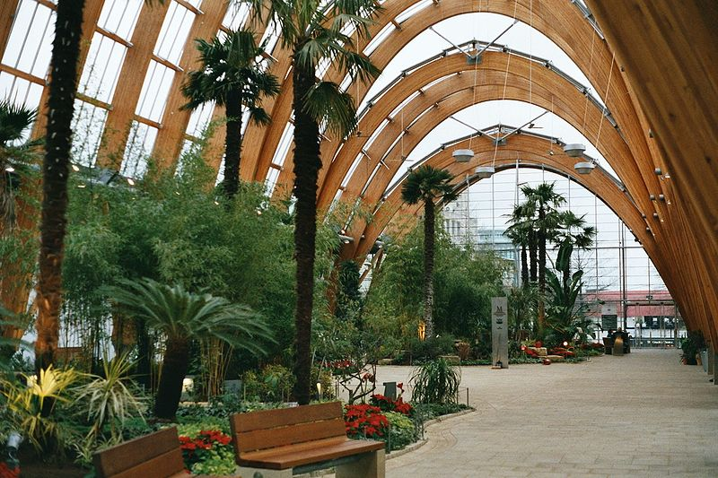 Winter Gardens Glasshouses to walk through Garden Designer