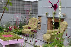 house of fraser garden, 2014 Chelsea flower show