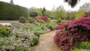 rock garden, emmetts garden, kent