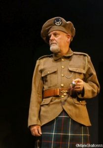 Kilted Tommy - Simon Waterfield, Historical Interpretation