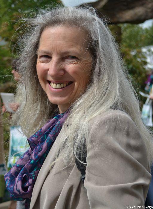 Marie Shallcross, garden designer, Plews, at Chelsea flower show