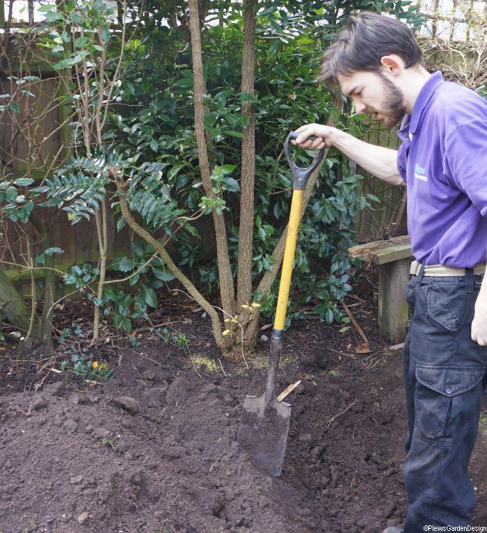 Soil Preparation - Double Digging