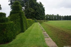 topiary, ha-ha, hardwick hall gardens, Derbyshire