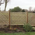 garden fencing, diamond trellis panels