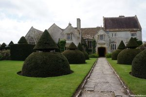 lytes carey manor house, apostle garden, topiary, national trust, somerset