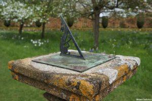 sundial, orchard, Lytes Carey, garden, national trust, somerset