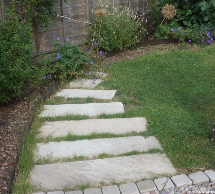 Stepping Stone Garden Path Garden Designer Garden Landscaper