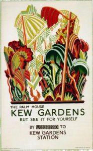 london-underground-poster-1926-palm-house-kew-gardens