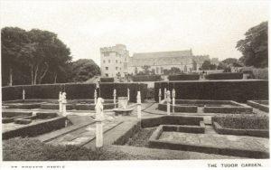 tudor-garden-st-donats-castle-1926-peter-davis-collection