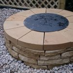 circular fire pit, with cover, trellis fence, garden designer, landscaper, garden project, kent
