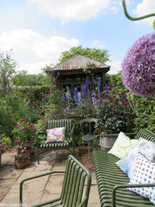 anneka rice colourful cutting garden, bbc radio 2 feelgood gardens, RHS Chelsea Flower Show 2017