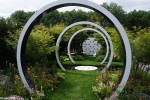 breast cancer , through the microscope garden, fresh gardens, RHS Chelsea Flower Show 2017