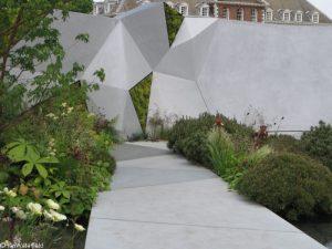 jeremy vine texture garden, bbc radio 2 feelgood gardens, RHS Chelsea Flower Show 2017
