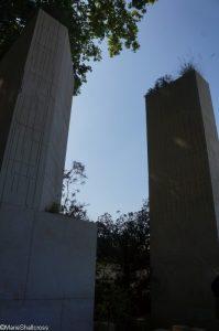monoliths, M&G garden, Maltese quarry, show gardens, RHS Chelsea Flower Show 2017