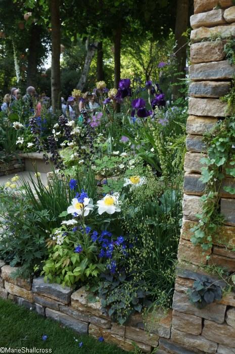 Poetry Lovers Garden, Artisan Gardens, RHS Chelsea Flower Show 2017