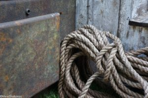 rope, walkers wharf garden, artisan gardens, RHS Chelsea Flower Show 2017