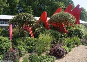 silk road garden, show gardens, RHS Chelsea Flower Show 2017