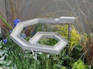 water feature, mindtrap garden, fresh gardens, RHS Chelsea Flower Show 2017