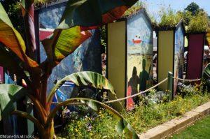 artwork, southend on sea gardens, Show gardens, rhs hampton court flower show 2017