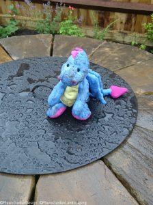 drystone wall fire pit, dragon toy, garden designer, garden project, landscape gardener, golden retriever, ornamental edible garden, dog friendly garden, saffy