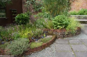 herb garden, Holehird Gardens, lake district, cumbria, lakeland horticultural society