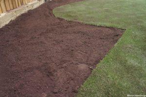 new flower border, new soil, ready for planting, garden design, landscape gardener, garden project, artificial lawn, ornamental edible gardens,