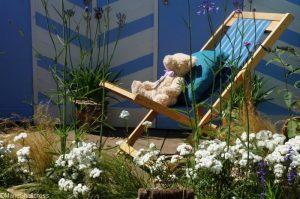 teddy bear, southend on sea gardens, Show gardens, rhs hampton court flower show 2017