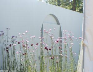 verbena, allium, viking cruises world of discovery garden, Show gardens, rhs hampton court flower show 2017