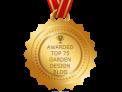 plews potting shed, awarded 75 top garden design blog , blog.feedspot, gardening blogs, award winning garden design blog