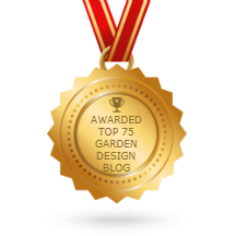 plews potting shed, awarded 75 top garden design blog , blog.feedspot, gardening blogs, award winning garden design blog